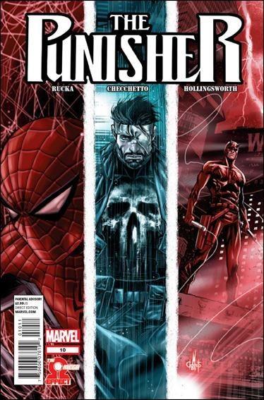 Couverture de The punisher Vol.09 (Marvel comics - 2011) -10- Omega effect part 2