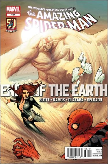 Couverture de Amazing Spider-Man (The) (1963) -684- Ends of the earth part 3 : sand trap