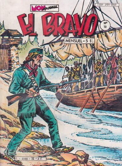 Couverture de El Bravo (Mon Journal) -72- La flèche vengeresse