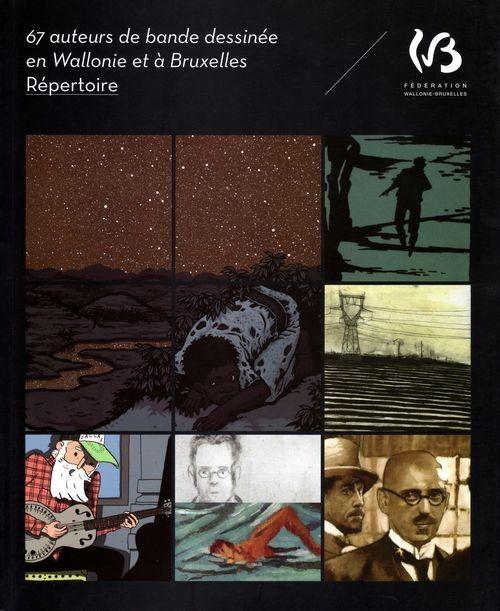 Couverture de (DOC) Études et essais divers - 67 auteurs de bande dessinée en Wallonie et à Bruxelles
