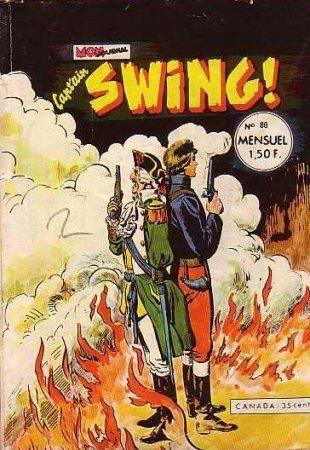 Couverture de Capt'ain Swing! (1re série) -80- Des manchots à gogo