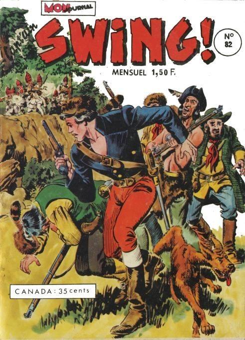 Couverture de Capt'ain Swing! (1re série) -82- Trahison !
