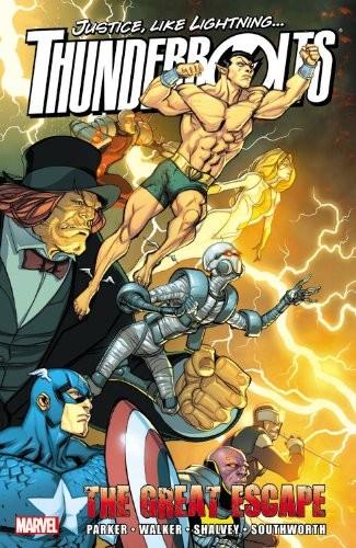 Couverture de Thunderbolts Vol.1 (Marvel Comics - 1997) -INT11- The Great Escape