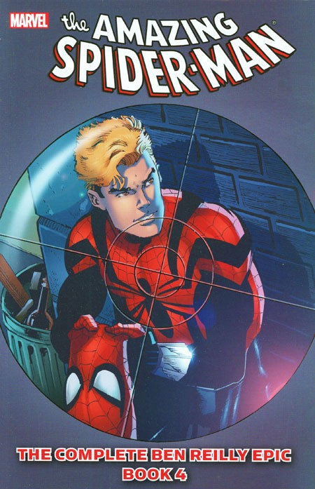 Couverture de Amazing Spider-Man (The) (TPB) -INT- The Complete Ben Reilly Epic Book 4