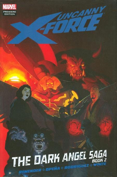Couverture de Uncanny X-Force (2010) -INT04- The Dark Angel Saga Book 2