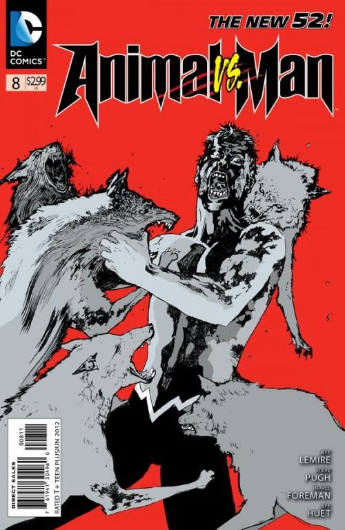 Couverture de Animal Man (2011) -8- Animal vs Man part 2