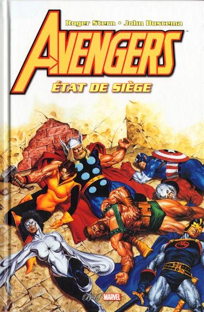Couverture de Best of Marvel -30- Avengers : État de siège