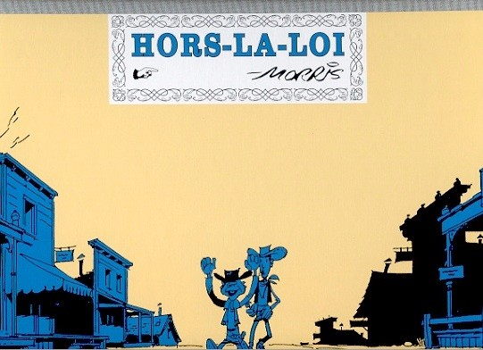 Couverture de Lucky Luke -PF- Hors-la-loi
