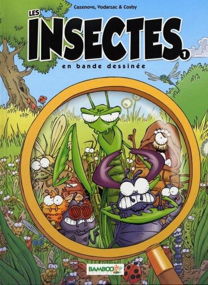 Couverture de Les insectes en bande dessinée - Tome 1