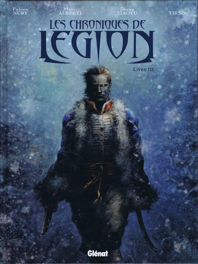 Couverture de Les chroniques de Légion -3- Livre III