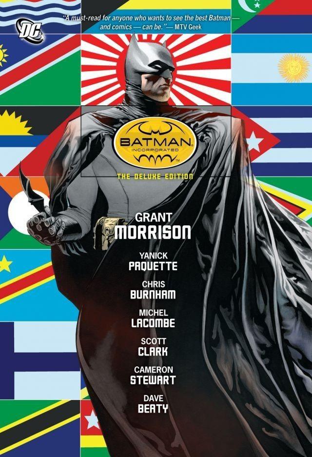 Couverture de Batman Incorporated (2011) -INT- Batman Incorporated