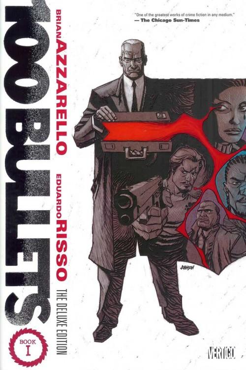 Couverture de 100 Bullets (1999) -INTHC1- The Deluxe Edition: Book 1