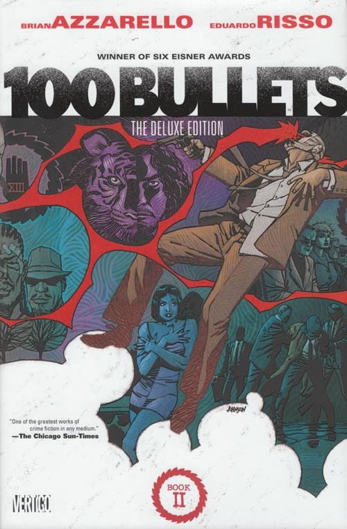 Couverture de 100 Bullets (1999) -INTHC2- The Deluxe Edition: Book 2