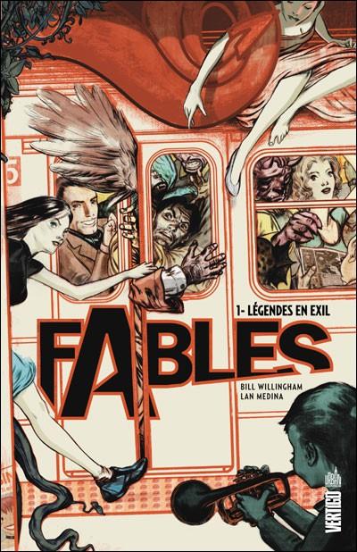 Couverture de Fables (Urban Comics) -1- Légendes en exil