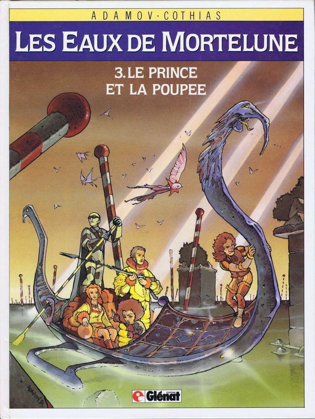 Couverture de Les eaux de Mortelune -3- Le prince et la poupée