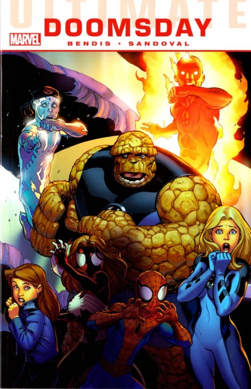 Couverture de Ultimate Comics Doomsday (2011) -INT- Ultimate Doomsday