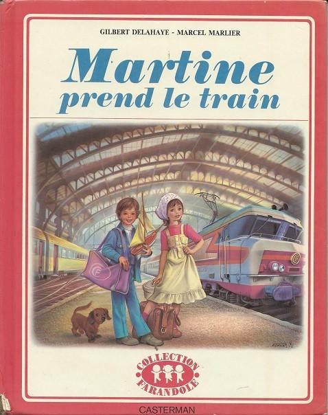 Couverture de Martine -28a- Martine prend le train