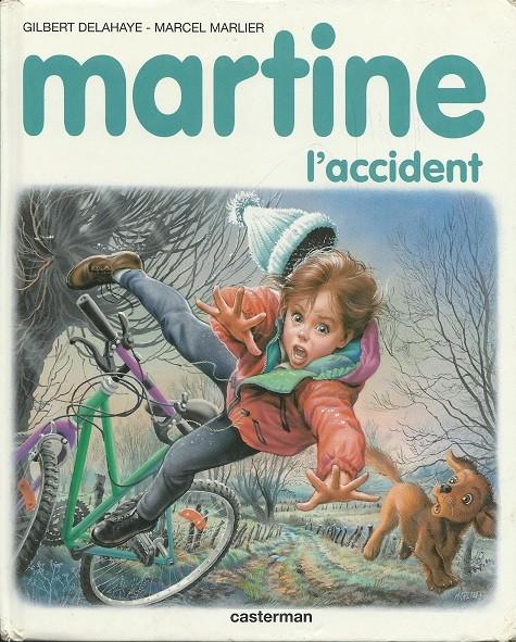 Couverture de Martine -46- Martine, l'accident