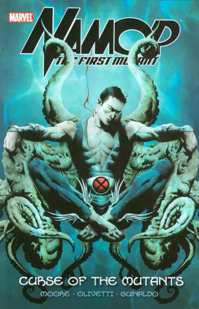Couverture de Namor: The First Mutant (2010) -INT1- Curse of the Mutants