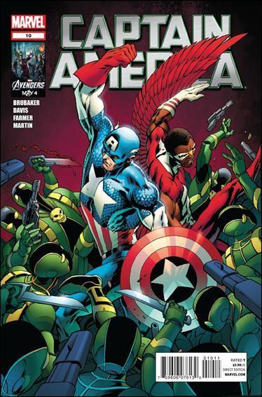 Couverture de Captain America (2011) -10- Powerless part 5