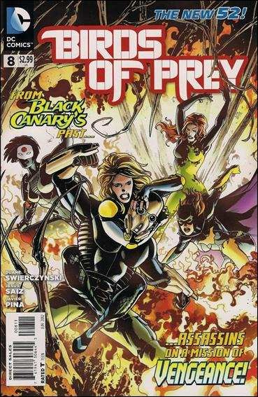 Couverture de Birds of Prey (2011) -8- A far cry
