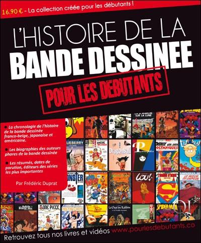 Couverture de (DOC) Études et essais divers - L'Histoire de la bande dessinée pour les débutants