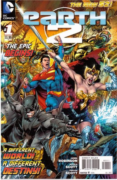 Couverture de Earth 2 (2012) -1- The price of victory