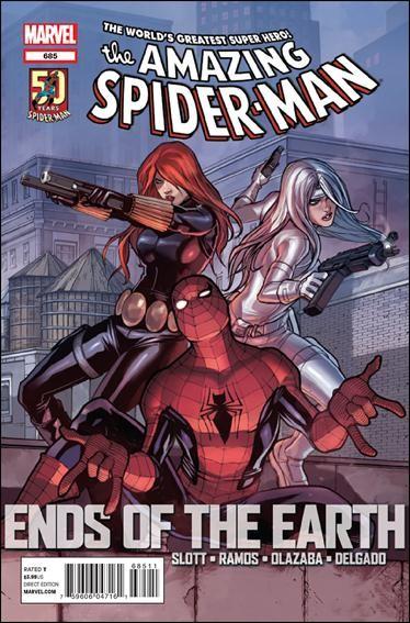 Couverture de Amazing Spider-Man (The) Vol.2 (Marvel comics - 1999) -685- Ends of the earth part 4 : global menace