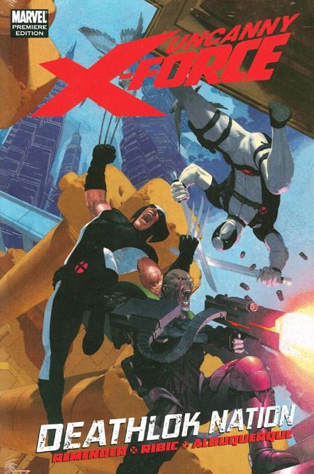 Couverture de Uncanny X-Force (2010) -INT02- Deathlok Nation