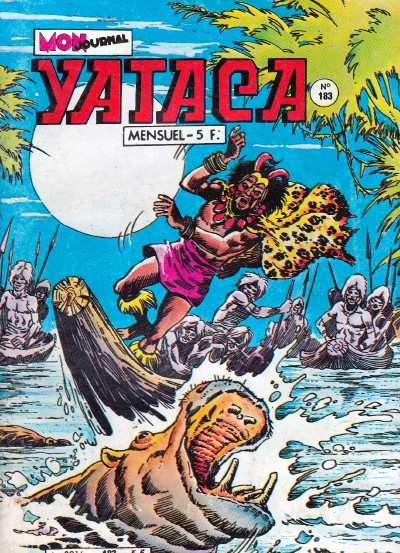 Couverture de Yataca (Fils-du-Soleil) -183- Les tambours de guerre