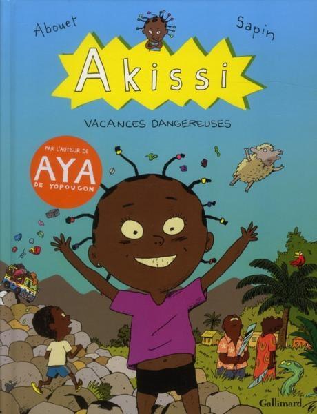 Couverture de Akissi -3- Vacances dangereuses
