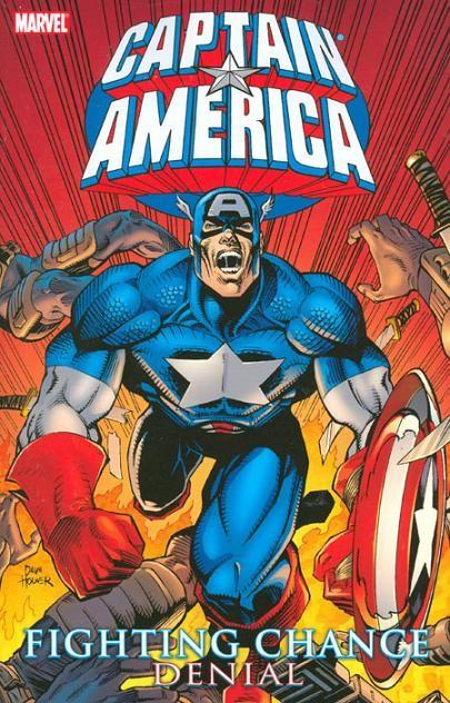 Couverture de Captain America (Marvel comics - 1968) -INT- Fighting Chance - Denial
