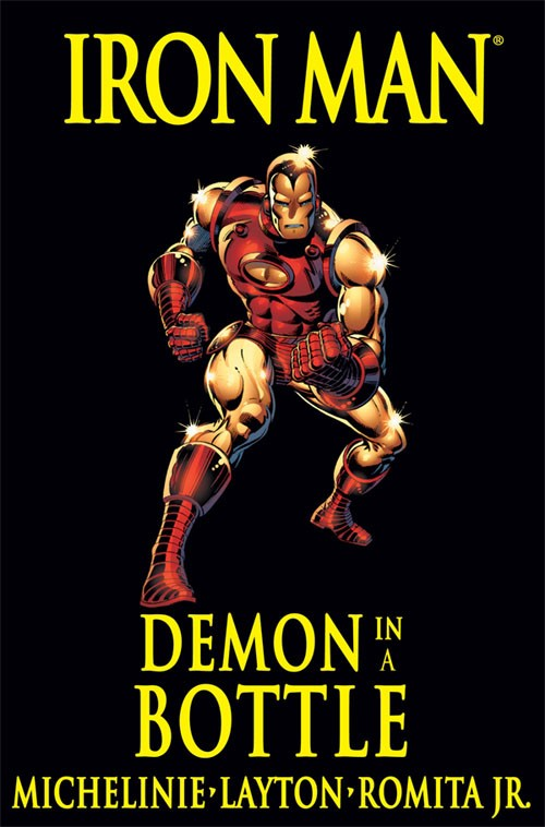 Couverture de Iron Man Vol.1 (Marvel comics - 1968) -INT- Demon in a Bottle