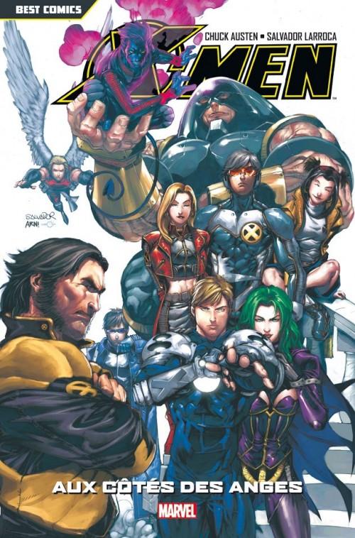 Couverture de X-Men (Best Comics) -2- Aux côtés des anges