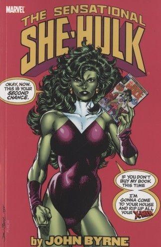 Couverture de Sensational She-Hulk (The) (1989) -INT1- Sensational She-Hulk by John Byrne