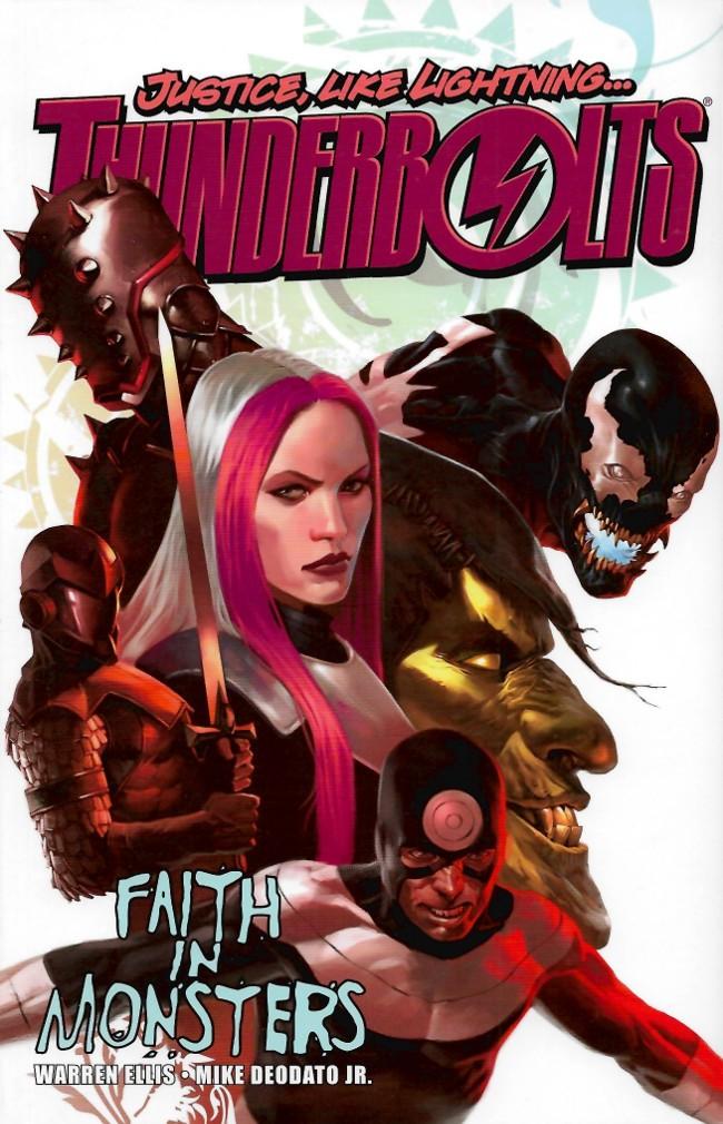 Couverture de Thunderbolts Vol.1 (Marvel Comics - 1997) -INT01- Faith in Monsters