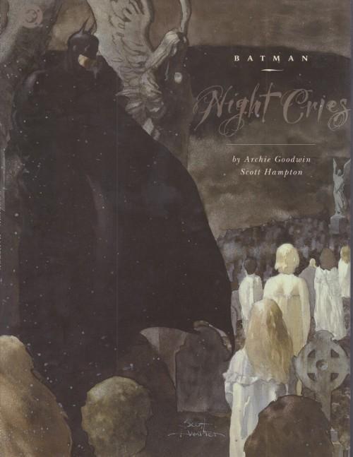 Couverture de Batman (One shots - Graphic novels) -GN- Batman: Night Cries