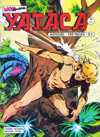 Couverture de Yataca (Fils-du-Soleil) -93- La fosse aux panthères sacrées