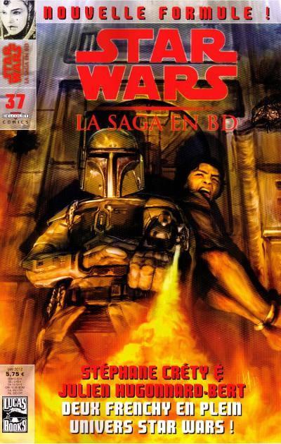 Couverture de Star Wars - BD Magazine / La saga en BD -37- Numéro 37
