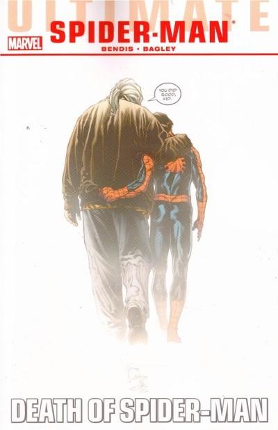 Couverture de Ultimate Spider-Man (2009) -INT04- Death of Spider-Man