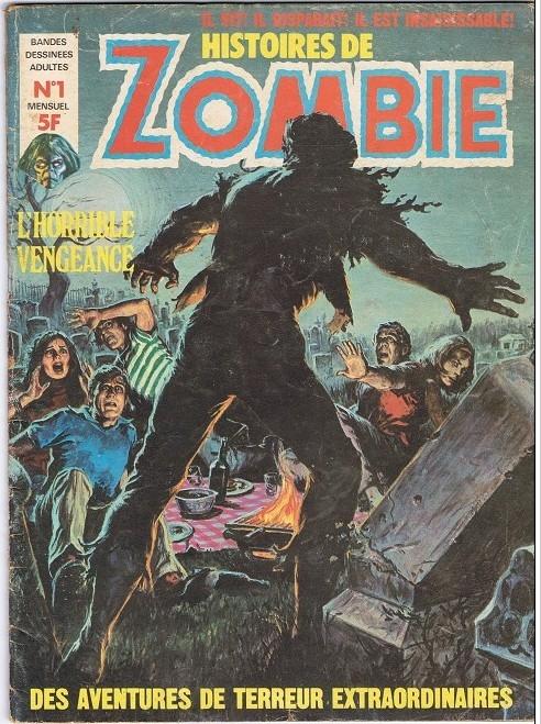 Couverture de Zombie (France Sud Publications / Bois de Boulogne) -1- L'horrible vengeance