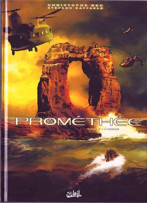 Couverture de Prométhée -6- L'Arche