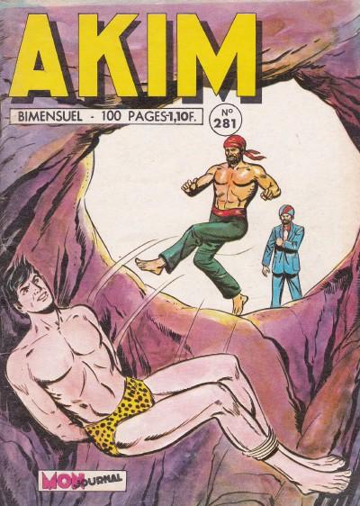 Couverture de Akim (1re série) -281- L'artillerie de la jungle à la rescousse