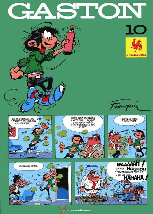 Couverture de Gaston (en langues régionales) -10Wallon- New look
