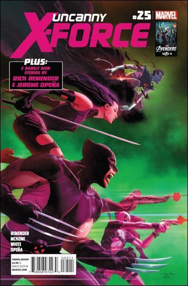 Couverture de Uncanny X-Force (2010) -25- Final execution