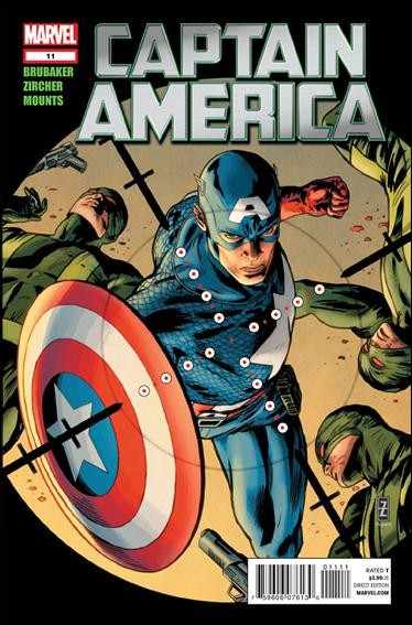 Couverture de Captain America (2011) -11- Shock to the system part 1
