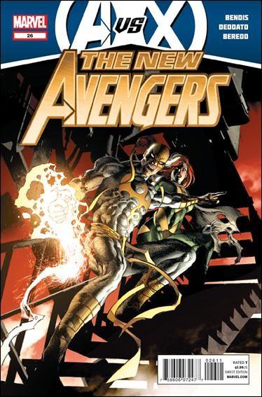 Couverture de New Avengers (The) (2010) -26- AvsX
