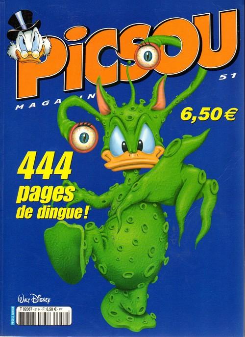Couverture de Picsou Magazine -Rec51- (2e série) Recueil n°51 (n°415-416-421)