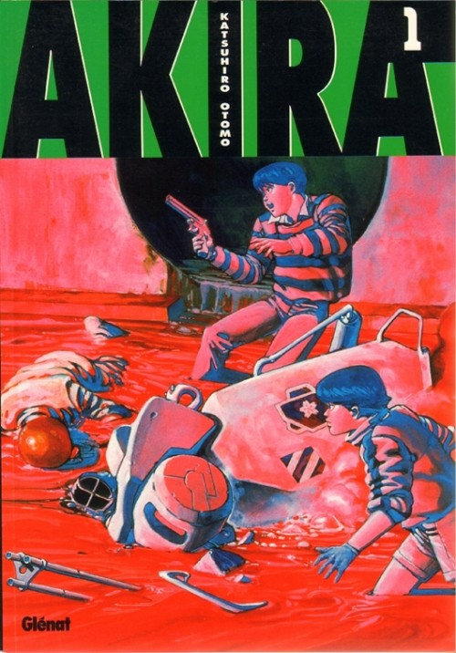 Couverture de Akira (Glénat en N&B) -1- Tome 1