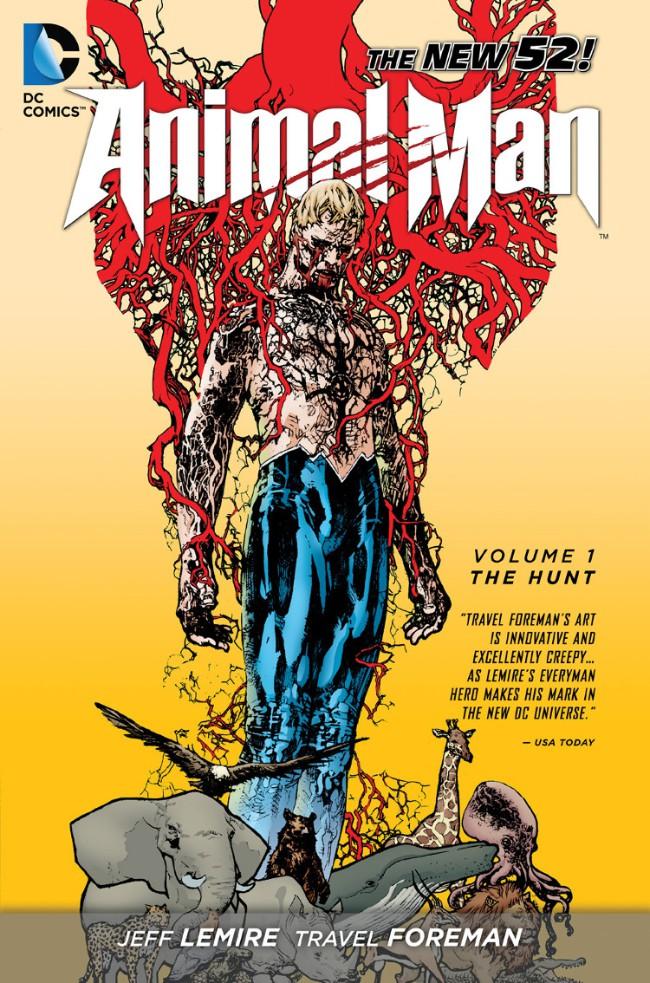 Couverture de Animal Man (2011) -INT01- The Hunt